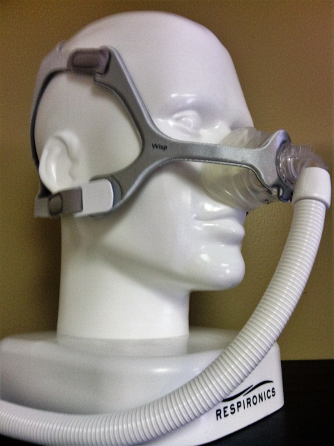 Wisp Nasal Mask Fabric Frame By Philips Fit Pack